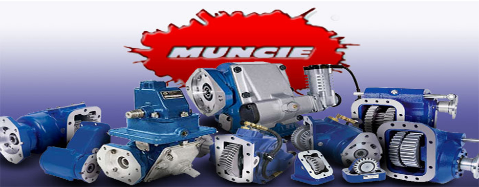 Muncie PTO / Power Take Off Service and Repair Parts.